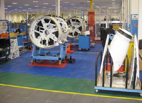 Der PVCBoden Typ INDUSTRIE ECO Ist Ein Widerstandsfähiger Und - Industrie pvc fliesen