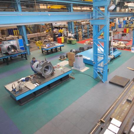 Hallenboden für Industrie und Handel